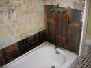 Smoke and fire damage in bathrooms