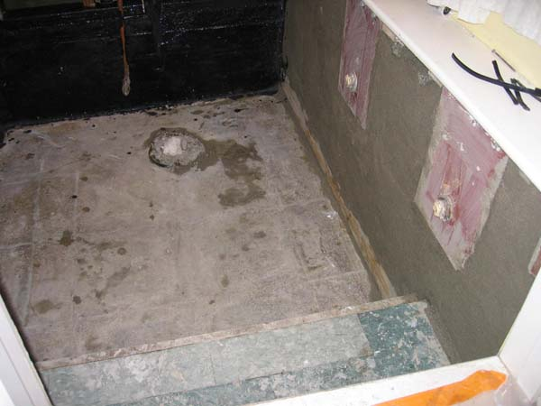 bad waterproofing effects