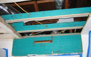 bad waterproofing effects on roofs