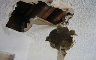 bad waterproofing effects on roof and walls