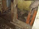 fire and smoke damaged furniture