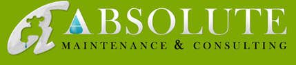 Absolute Maintenance & Consulting logo green