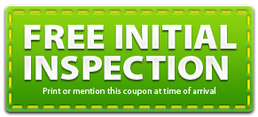 Free Initial Inspection